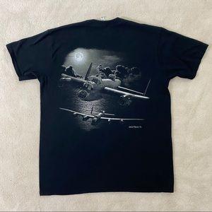 Alstyle Apparel & Activewear Men's Black T-shirt